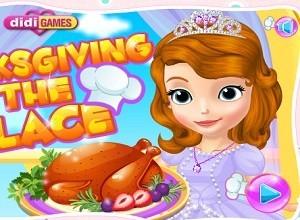 لعبة الطبخ في عيد الشكر