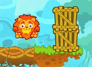 لعبة انقاذ حيوانات الغابة