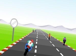 لعبة سباق دراجات التوربو