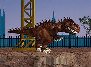 لعبة الديناصور المتوحش