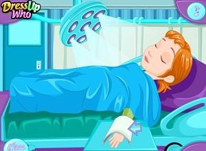 العاب طبيبة الاطفال
