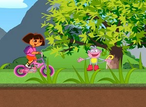 لعبة دراجة دورا الهوائية