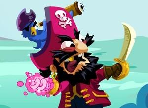 لعبة القرصان وجمع الذهب