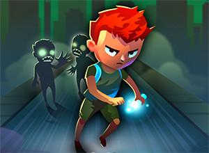 لعبة الركض من الزومبي