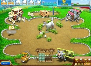 لعبة المزرعة و صناعة البيتزا