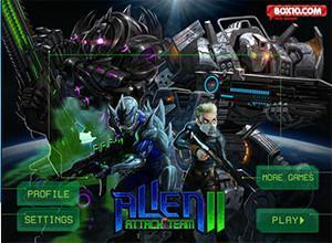 لعبة فريق الهجوم الفضائي
