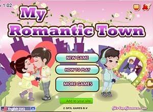 لعبة ترتيب المدينة الرومانسية