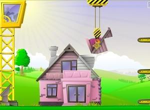 لعبة البناء السعيد