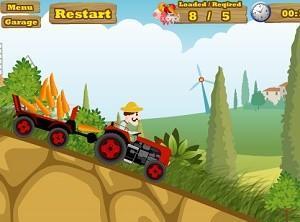 لعبة عربة المزرعة السعيدة