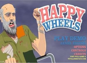 لعبة العجلات السعيدة