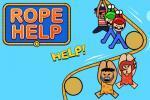 لعبة مساعدة الناس عبر الحبل