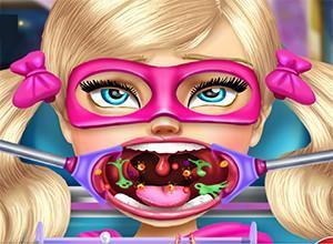 لعبة علاج فم باربي