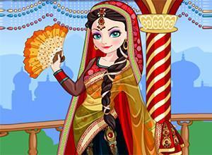 لعبة تلبيس الاميره الهندية