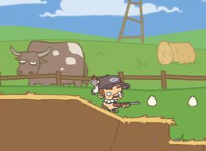 لعبة مزرعة البيض