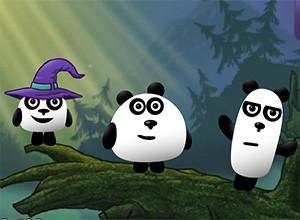لعبة الباندا الثلاثة