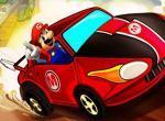 لعبة درافت سيارة ماريو
