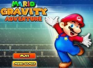 لعبة ماريو مغامرة الجاذبية