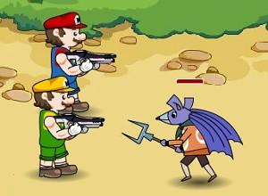 لعبة ماريو ضد الفئران