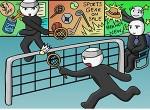 لعبة كرة المضرب