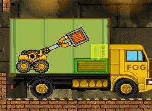 لعبة نقل الصناديق