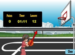 لعبة باكوجان كرة السلة