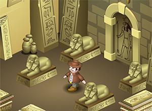 لعبة قبر الفرعون