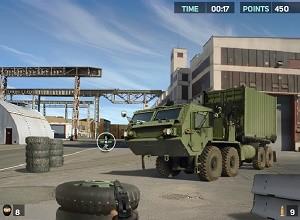 لعبة قناص القاعدة العسكرية