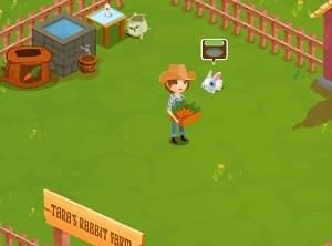لعبة المزارع و الارنب