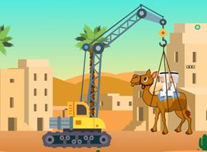 لعبة انقاذ الجمل في الصحراء