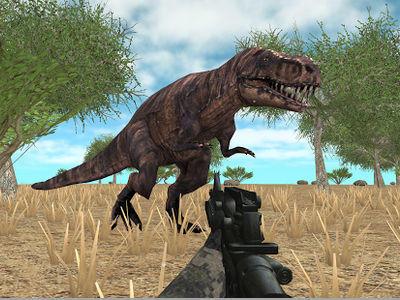 لعبة صياد الديناصورات