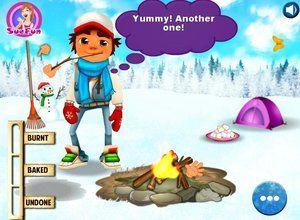 لعبة صب واي مغامرة الثلج