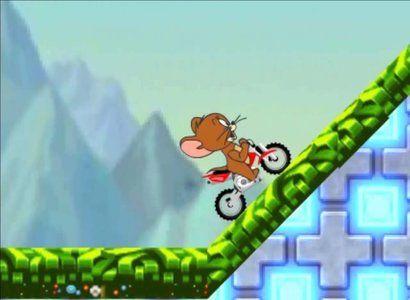 لعبة دراجة جيري