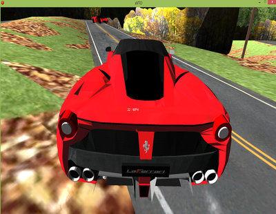 لعبة سيارات فيراري