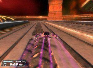 لعبة سباق سيارات في الفضاء