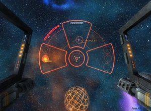 لعبة المحاربة الفضائية
