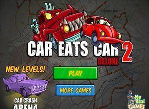 لعبة سيارة تاكل سيارة