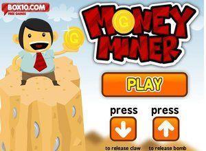 لعبة عامل منجم المال