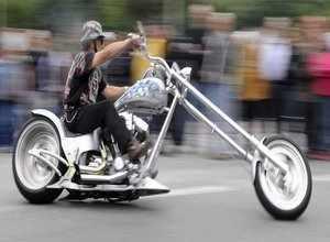 لعبة سباق دراجات الهارلي