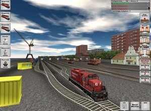 لعبة القطار الخطير
