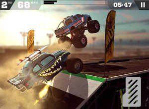 لعبة سباق السيارة الوحش