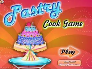 لعبة طبخ التورتة