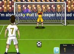 لعبة ميسي ضد كريستيانو رونالدو