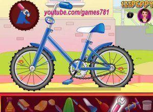 لعبة دراجة البنات المثيرة