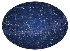 لعبة لغز خريطة النجوم