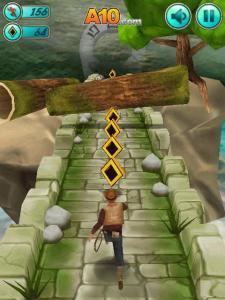لعبة اكشن : الهروب من المعبد