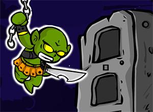 لعبة حرب الوحوش الخضراء