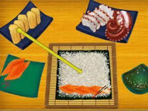 لعبة صنع الطعام السوشي