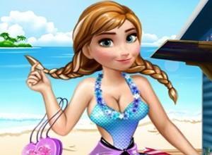 لعبة تلبيس الشاطئ الساحر