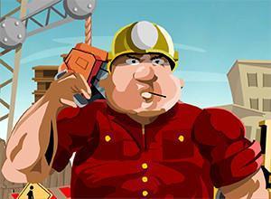 لعبة حرب عمال البناء