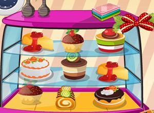 لعبة محل الكعك